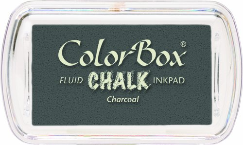 ColorBox Chalk Mini Ink Pad, (Ink Pad Charcoal)