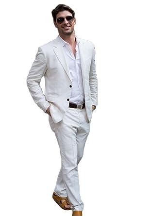 KA Beauty Traje - para hombre Blanco blanco 34