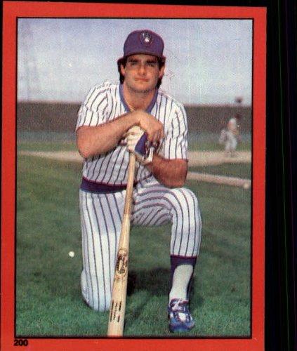 1982 Topps Baseball Sticker #200 Paul Molitor Mint - Baseball Topps 1982 Sticker