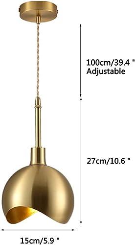 Modo Lighting Mid-Century Kitchen Island Lighting Drop Pendant Fixture with Raw Brass Farmhouse Light