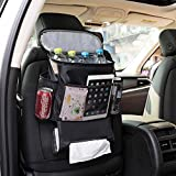 Autoark Car Seat Back Organizer and Cooler Set,Multi-Pocket Travel Storage Bag(Heat-Preservation and Waterproof),Bigger-Capacity,AK-054