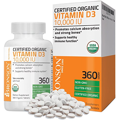 Bronson Vitamin Certified Organic Supplement