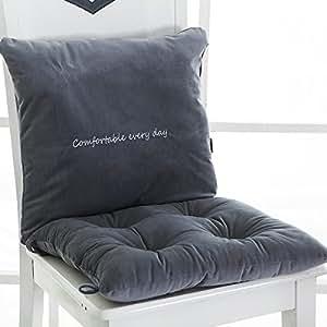 Amazon Com Nonslip Grip Chair Seat Cushions Lumbar Back