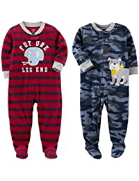 Baby Boys 2-Pack Fleece Pajamas
