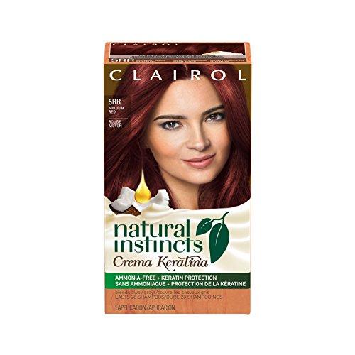 Top Clairol Natural Instincts Crema Keratina Hair Color Kit, Medium Red 5RR Raspberry Creme hot sale TDggR1cU