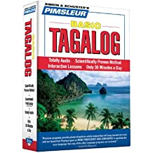 Pimsleur Tagalog Basic Course - Level 1 Lessons 1-10 CD: Learn to Speak and Understand Tagalog with Pimsleur Language Programs