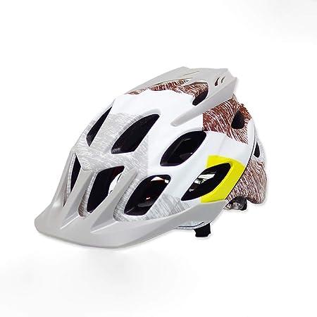 John-L Casco Bicicleta, Casco De Ciclismo Especializado Ajustable ...