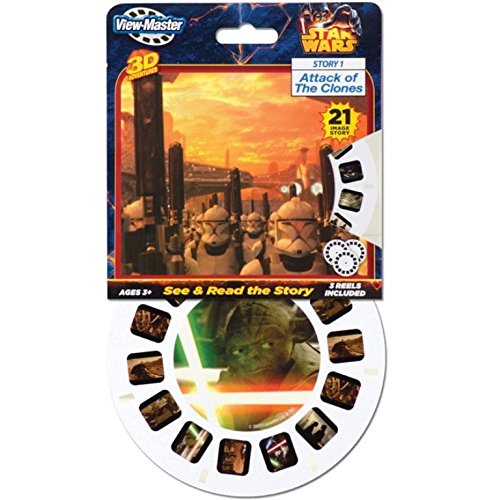 Attack Of The Clones Star Wars View-Master Viewmaster 21 3D