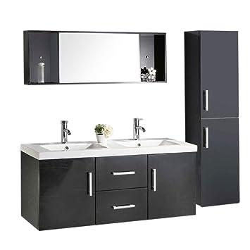Muebles para baño Modelo Malibu 120 cm para cuarto de baño con ...