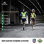 GoxRunx 2 Pack Reflective Running Vest Gear with Large Pocket & Adjustable Waist for Men Women,Ultralight & Comfy Reflective Vest for Walking Cycling,Hi Vis Safety Vest in 5 Sizes +4 Bands&Bag