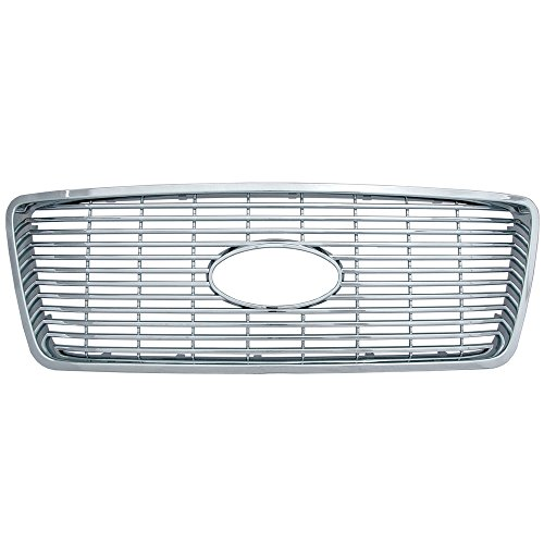 Bully  GI-20 Triple Chrome Plated ABS Snap-in Honeycomb Imposter Grille Overlay, 1 Piece ()
