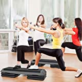 F2C 43 inch Adjustable Aerobic Stepper Exercise