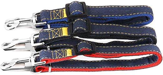 Hamkaw Cinturón De Seguridad para Perros, Arnés del Cinturón para ...