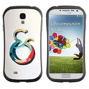 LASTONE PHONE CASE / Suave Silicona Caso Carcasa de Caucho Funda para Samsung Galaxy S4 I9500 / And Ocean Blue Red Whale Grey Yellow