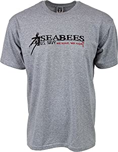 U.S. Navy Seabees 'We Build, We Fight' T-Shirt by Military Shirts