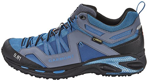 Garmont 9.81 Trail Pro GTX Shoes Men Blue/Silver Größe 47 2016 Laufschuhe