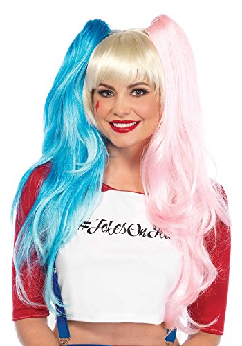Leg Avenue Women's Deviant Doll Wig, Multi One Size ()
