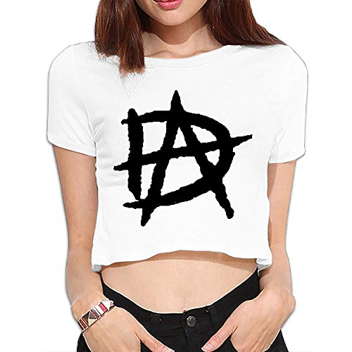 Fitted Shirts Women Antimicrobic Crope Top T Shirt With WWE Diva Dean Ambrose (Wwe Diva Outfits)