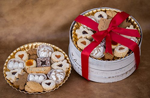 WHITE HAT BOX TRADITIONAL ASSORTED COOKIES_ 3LBS