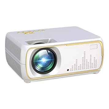 Zichen Mini proyector LED portátil Proyector de Video Full HD ...