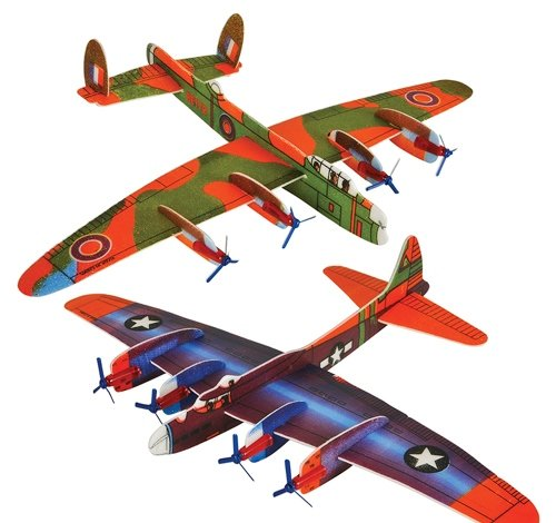 17'' GIANT BOMBER GLIDER, Case of 288 by DollarItemDirect