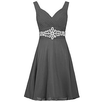 Hupoop❤❤ Vestido de cóctel para Mujer con Vestido de Baile de ...