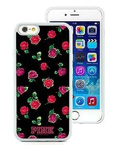 Superior Custom Design Victoria's Secret Love Pink 24 White Case For iPhone 6 TPU 4.7 inch by ruishername
