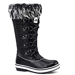 Aleader's cold weather footwear are a must have essential of the winter wardrobe. Ideal casual outdoor footwear for those cold winter days and suitable for those participating winter activities.