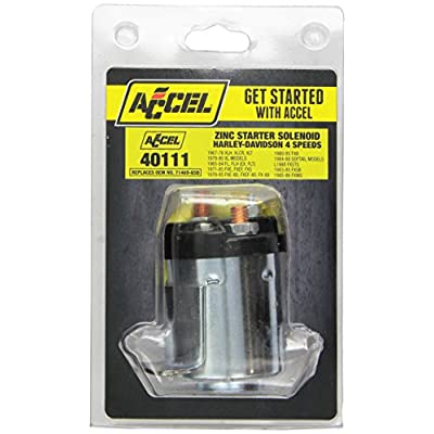 ACCEL Starter Solenoid (ACC 40111): Automotive