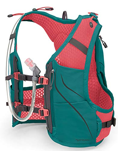 Osprey Packs Dyna 1.5L Women's Running Hydration Vest, Reef Teal, WXS/Small by Osprey (Image #2)