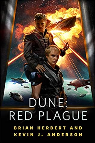 book cover of Dune: Red Plague