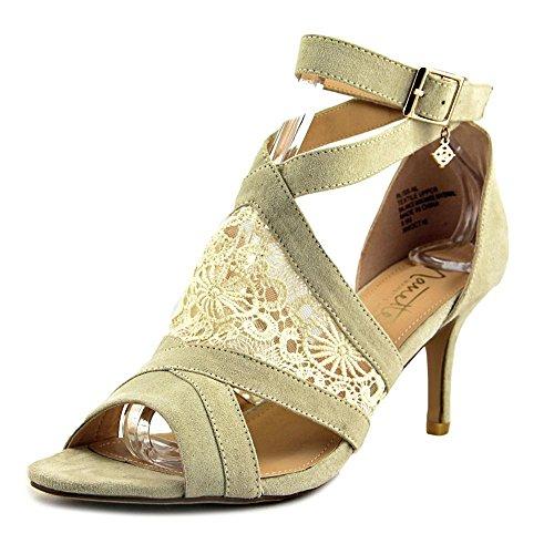 punta para abertura Sandalias mujer en con naturales tobillo abierta Lepore sandalias Nanette el con y wEzq1Xz