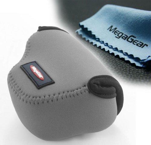 MegaGear ''Ultra Light'' Neoprene Camera Case Bag for Panasonic GM1 with 12-32mm (Gray)