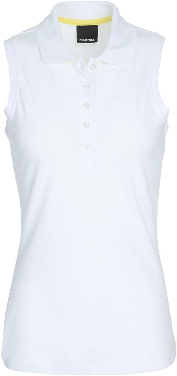 Diadora - Camiseta Tipo Polo L.Polo SL PQ para Mujer: Amazon.es ...