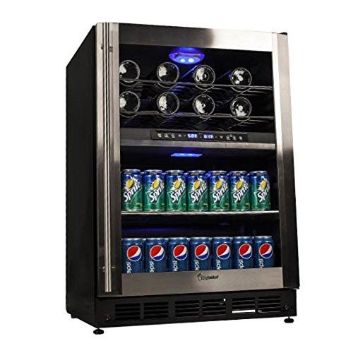 Amazon.com  Magic Chef 44 Bottle Stainless Dual Zone Wine   Beverage Cooler  MCWBC77DZC  Appliances 0e4901fc8