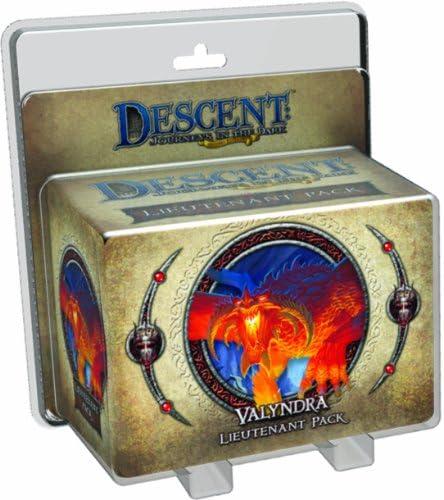 Fantasy Flight Games Descenso Segunda Edición: Valyndra Teniente Paquete: Amazon.es: Juguetes y juegos