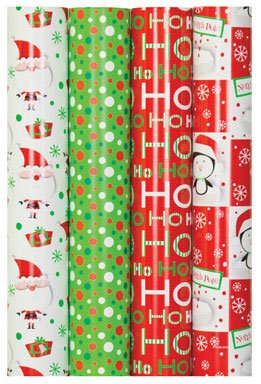 Impact Innovations Inc Holiday Wrap Cy 30'' 40Sf Case Of 48, Impact Innovations Inc by Impact Innovations Inc