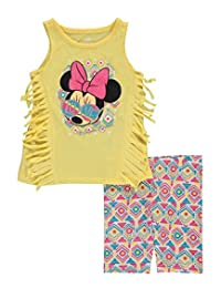"Minnie Mouse Baby Girls' ""Sun Style"" 2-Piece Outfit"
