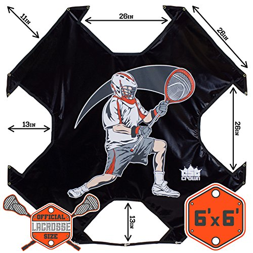 Lacrosse Goal Practice Target (Goal Not Included) - Fits Any Standard Size Lacrosee Goal! by Crown (Image #5)