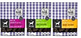 I And Love And You Nice Jerky Bites 3 Flavor Variety Bundle: (1) Chicken & Salmon Recipe, (1) Beef & Lamb Recipe, and (1) Chicken & Duck Recipe, 4 Oz. Ea. (3 Bags)