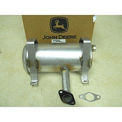 John Deere Muffler fits LT133, LT150, LT155, LTR155 AM122848,M92365