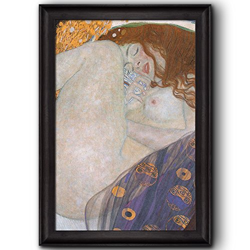 Danae by Gustav Klimt Framed Art