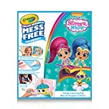 Crayola Color Wonder Shimmer & Shine Kit,  for Girls, Gift for Boys and Girls, Kids, Ages 3+, Summer Travel, Out of School Cottage Activties
