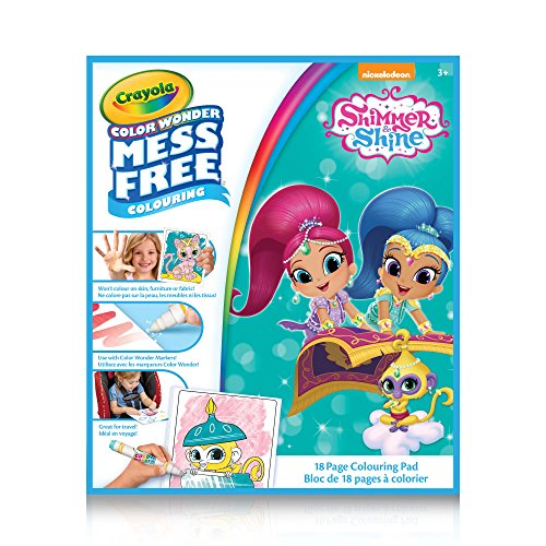 Crayola Color Wonder Book Shimmer & Shine