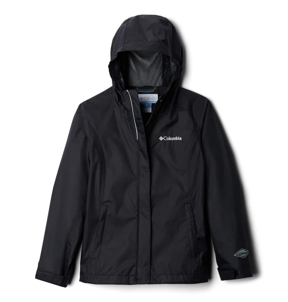 Columbia Big Girls' Arcadia Jacket, Black, Large
