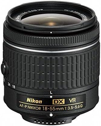 Nikon D7500 DX-Format Digital SLR w/AF-P DX NIKKOR 18-55mm f/3.5-5.6G VR Lens & AF-P DX 70-300mm f/4.5-6.3G ED Lens + Professional Accessory Bundle 51cSovz9uHL