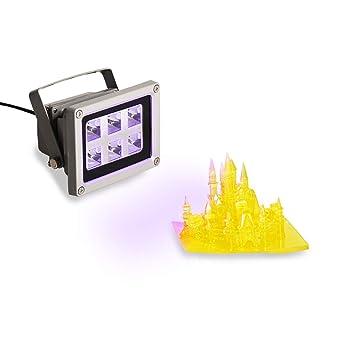 Amazon.com: Luz de curado de resina UV para impresora de ...