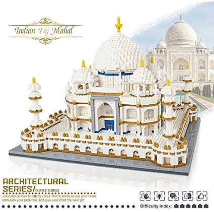 India Taj Mahal Mausoleum Model 3950pcs Building Blocks Bricks Architecture Toy