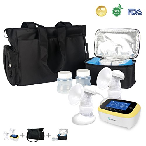 BelleMa S5 Single / Double Hospital Grade Electric Breast Pumps, With IDC ™ technology, Touch Screen Cordless ( Value Pack ) by Bellema (Image #6)