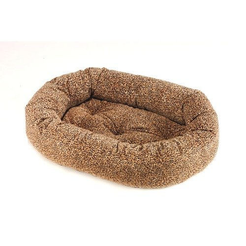 Donut Dog Bed Size: Small, Color: Puma